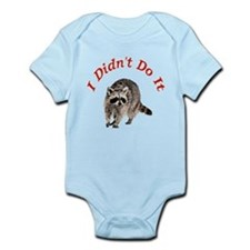 Raccoon Humorous Infant Bodysuit