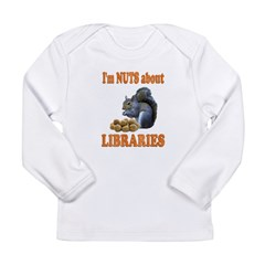 Libraries Long Sleeve Infant T-Shirt