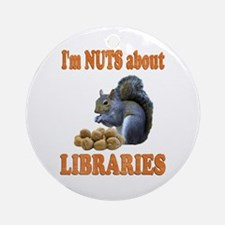 Libraries Ornament (Round)