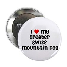 I * my Greater Swiss Mountain Button