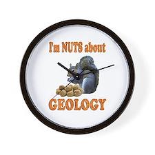 Geology Wall Clock