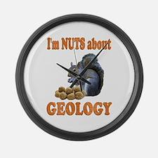 Geology Large Wall Clock