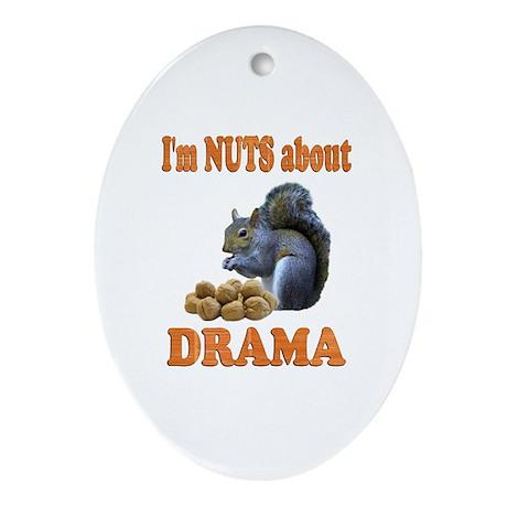 Drama Ornament (Oval)