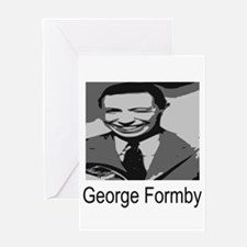 George Formby Greeting Card