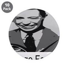"""George Formby 3.5"""" Button (10 pack)"""