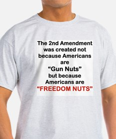 THE SECOND AMENDMENT WAS CREATED ... T-Shirt