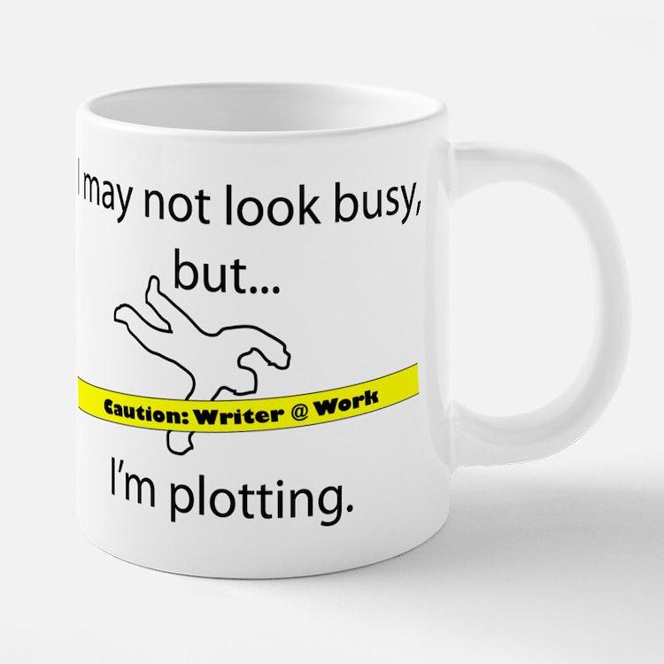 Cute Writer 20 oz Ceramic Mega Mug
