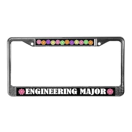 Engineering Major License Frame