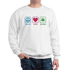 Peace Love Grass Sweater