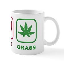 Peace Love Grass Mug