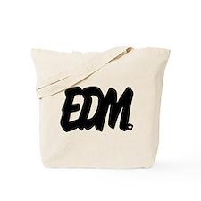 EDM Brushed Tote Bag