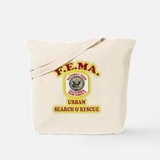 F.E.M.A. Search & Rescue Tote Bag