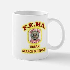 F.E.M.A. Search & Rescue Mug