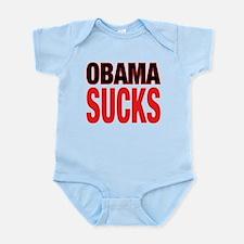 Cute Obama sucks Infant Bodysuit