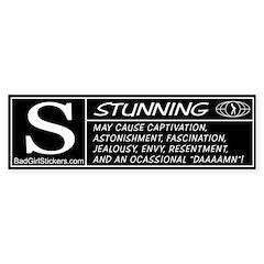 Stunning Rating Bumper Bumper Sticker