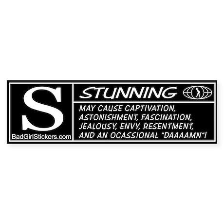 Stunning Rating Bumper Sticker