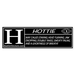 Hottie Rating Bumper Bumper Sticker