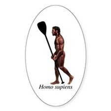 Homo supiens Decal