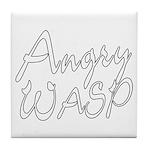Angry Wasp Tile Coaster