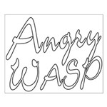 Angry Wasp Small Poster