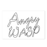 Angry Wasp Postcards (Package of 8)