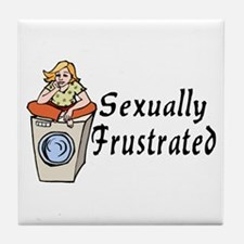 Sexually Frustrated Tile Coaster