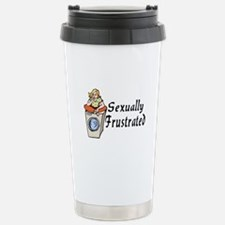 Sexually Frustrated Stainless Steel Travel Mug