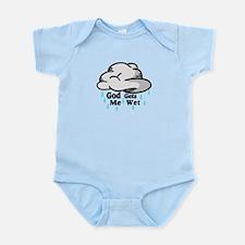 God Gets Me Wet Infant Bodysuit