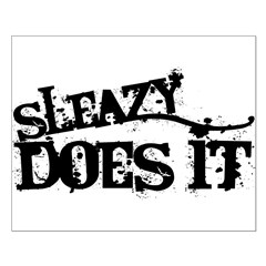 Sleazy Does It Posters