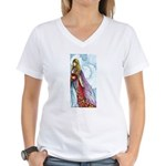 book fairy Women's V-Neck T-Shirt