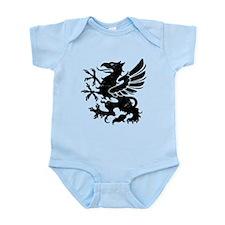 Black Gryphon Infant Bodysuit