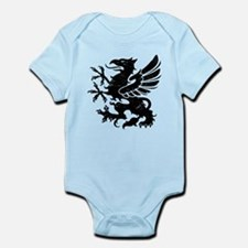 Black Gryphon Infant Bodysuit