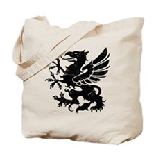 Black Gryphon Tote Bag