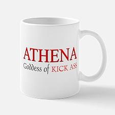 """""""Athena: Goddess of KICK ASS"""" Mug"""