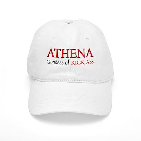 """""""Athena: Goddess of KICK ASS"""" Cap"""