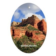 Boynton Canyon Trail Ornament (Oval)
