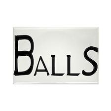 Balls Rectangle Magnet