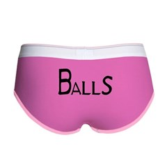 Balls Women's Boy Brief
