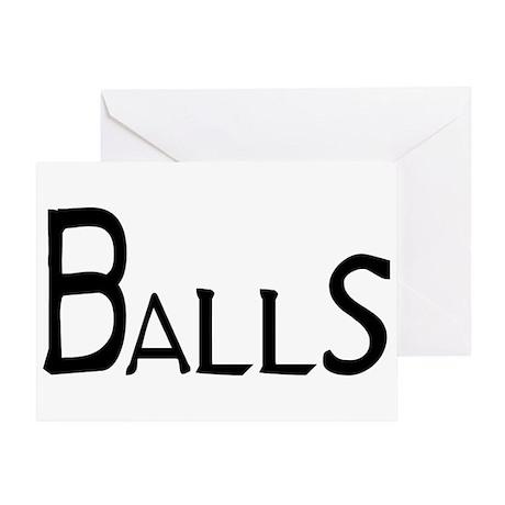 Balls Greeting Card