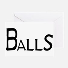 Balls Greeting Card