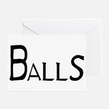 Balls Greeting Cards (Pk of 20)