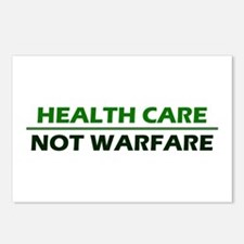 Health Care Not Warfare Postcards (Package of 8)