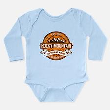 Rocky Mountain Pumpkin Long Sleeve Infant Bodysuit