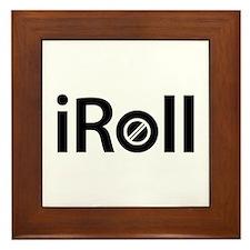 iRoll Framed Tile