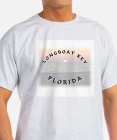 Longboat Key Ash Grey T-Shirt