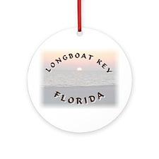 Longboat Key Ornament (Round)