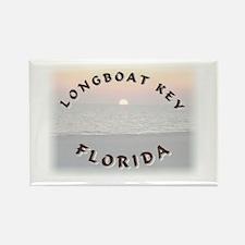 Longboat Key Rectangle Magnet