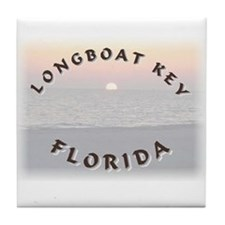 Longboat Key Tile Coaster