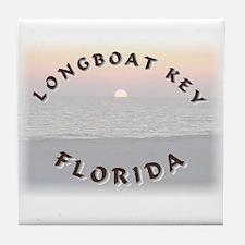 Longboat Key Tile Coaster