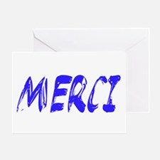 French Thank You Greeting Card